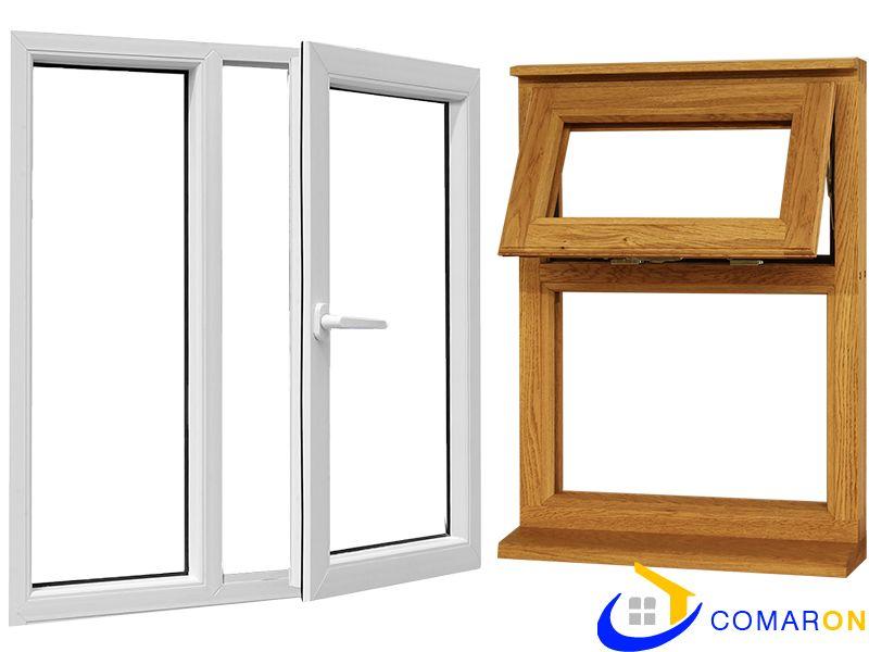 UPVC Window vs Wooden Window